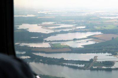 Kiesabgrabung Niederrhein