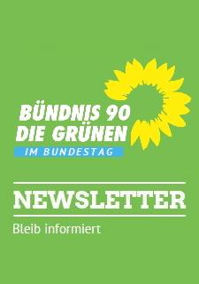 Zum Newsletter der Grünen im Bundestag
